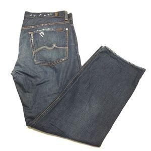 7 For All Mankind Austyn Jeans Distressed Denim